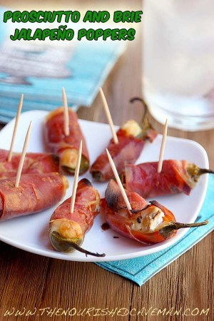 Prosciutto And Brie Jalape 241 O Poppers Quick Easy And Low Carb The Nourished Caveman