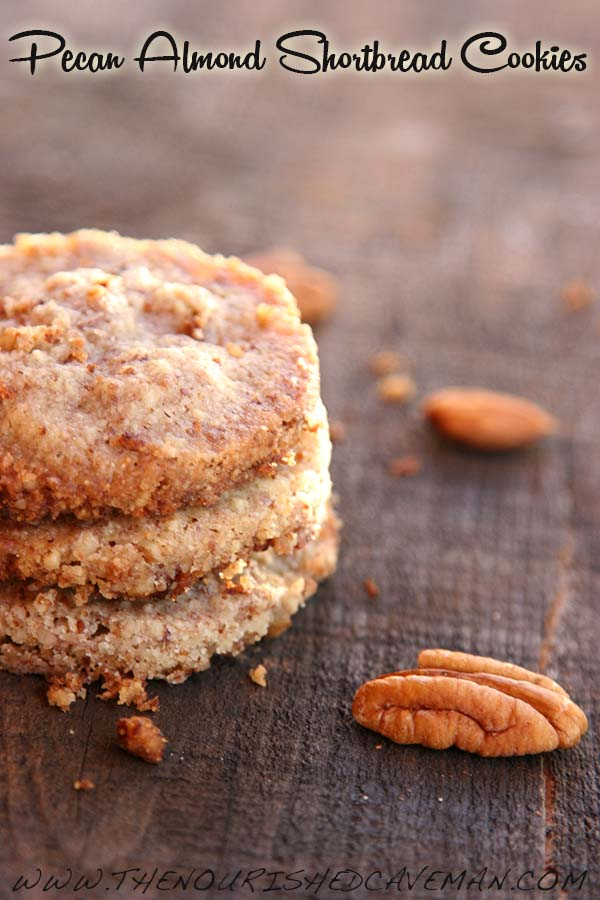 Pecan Almond Shorbread Cookies By The Nourished Caveman 2