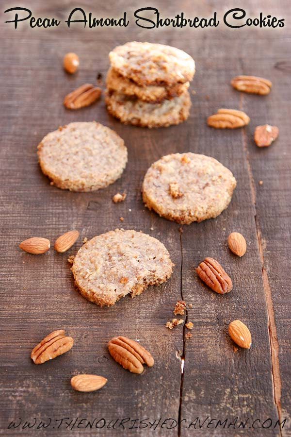 Pecan Almond Shorbread Cookies By The Nourished Caveman 3