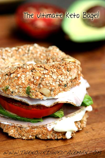 The Ultimate Keto Bagel By The Nourished Caveman