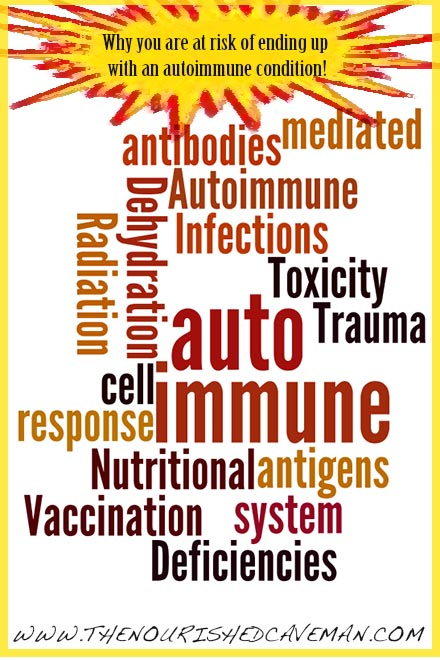 Why you are at risk of ending up with an autoimmune condition! Have you ever asked yourself what is the real source of the autoimmune process, and how does it work? And most of all are you at risk of ending up with one?