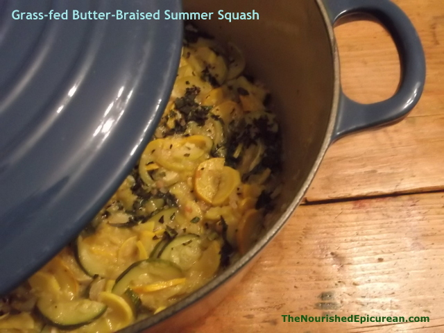 Grass-fed Butter Braised Squash