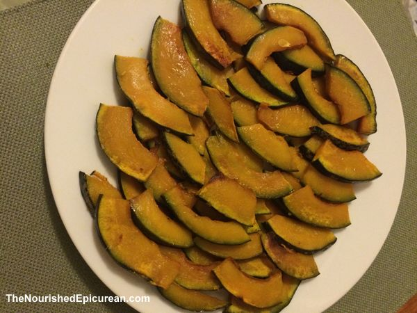 Kabocha squash fries