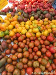 NYC Farmers' Market Tomatoes