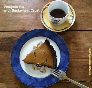 Pumpkin Pie with Buckwheat Crust