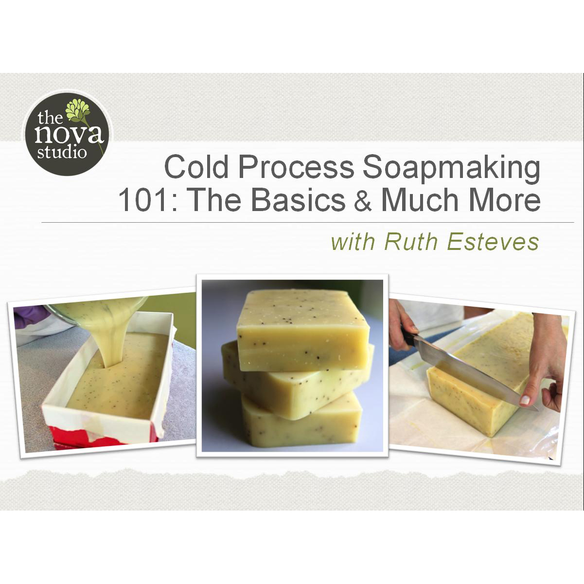 Learn To Make Soap Using The Cold Process Method