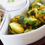 brussels sprouts thoran