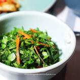 massaged greens salad