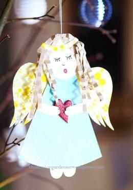 paper angel DIY