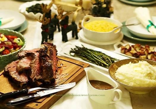 christmas supper 2013 prime rib