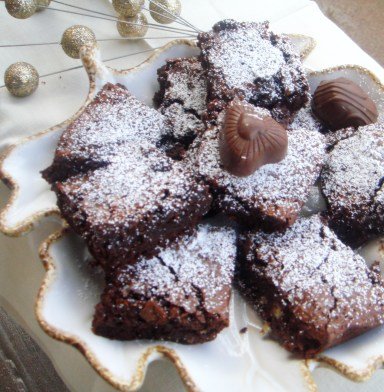 how to use hazelnut kernels in brownies