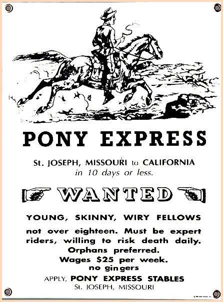 pony express clip art