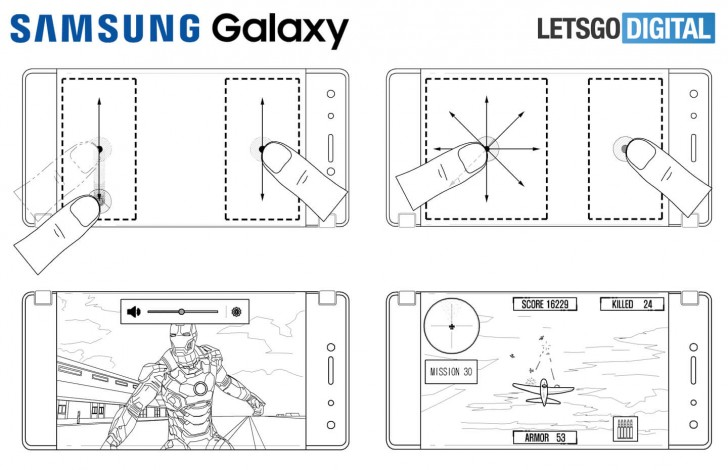 Samsung patents foldable dual screen phone with focus on
