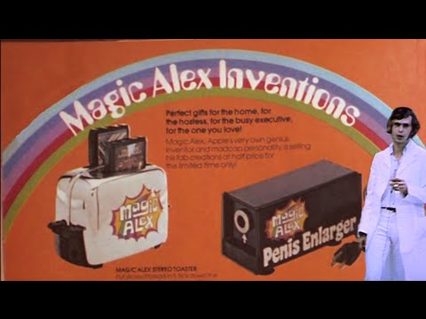 "Magic Alex Apple Electronics ""inventions"" promo"