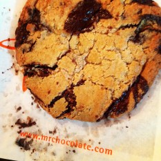 Warm Chocolate Chip Cookie from Jacques Torres