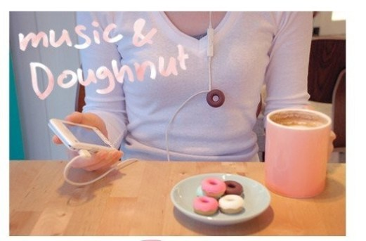 doughnut earphone winder best foodie gift