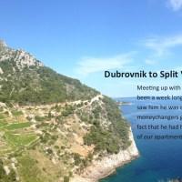 Dubrovnik to Split Via an Island or Two