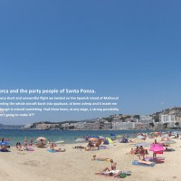 Mallorca and the party people of Santa Ponsa
