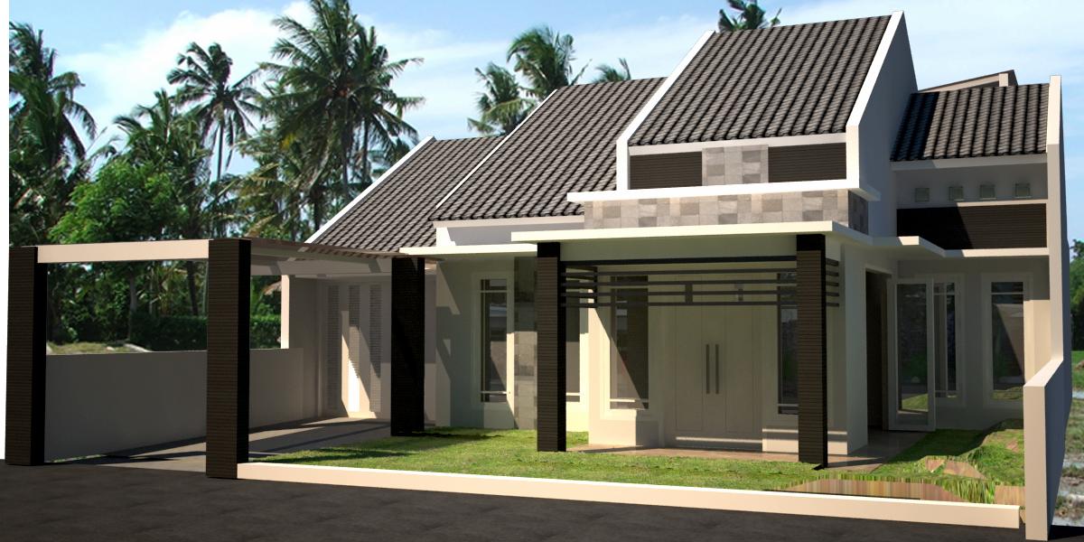 residential house rumah tinggal tulung agung eksterior