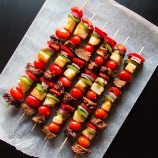 Hawaiian Seitan Skewers | www.thenutfreevegan.net