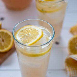 Lavender-Infused Lemonade | www.thenutfreevegan.net