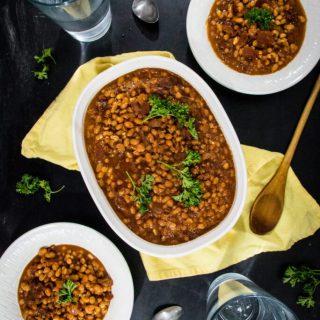 Vegan Baked Beans | www.thenutfreevegan.net