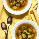Yukon Gold Potato Soup The Nut Free Vegan