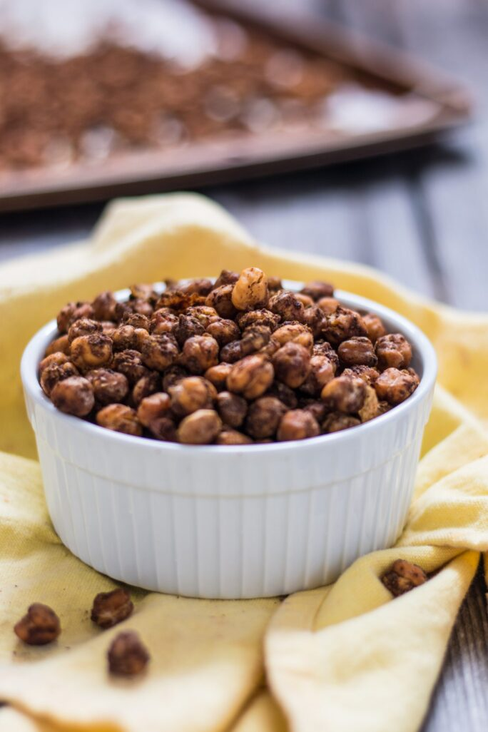Jamaican Jerk Chickpeas Nut-free Nutfreevegan Snack Appetizer Recipe