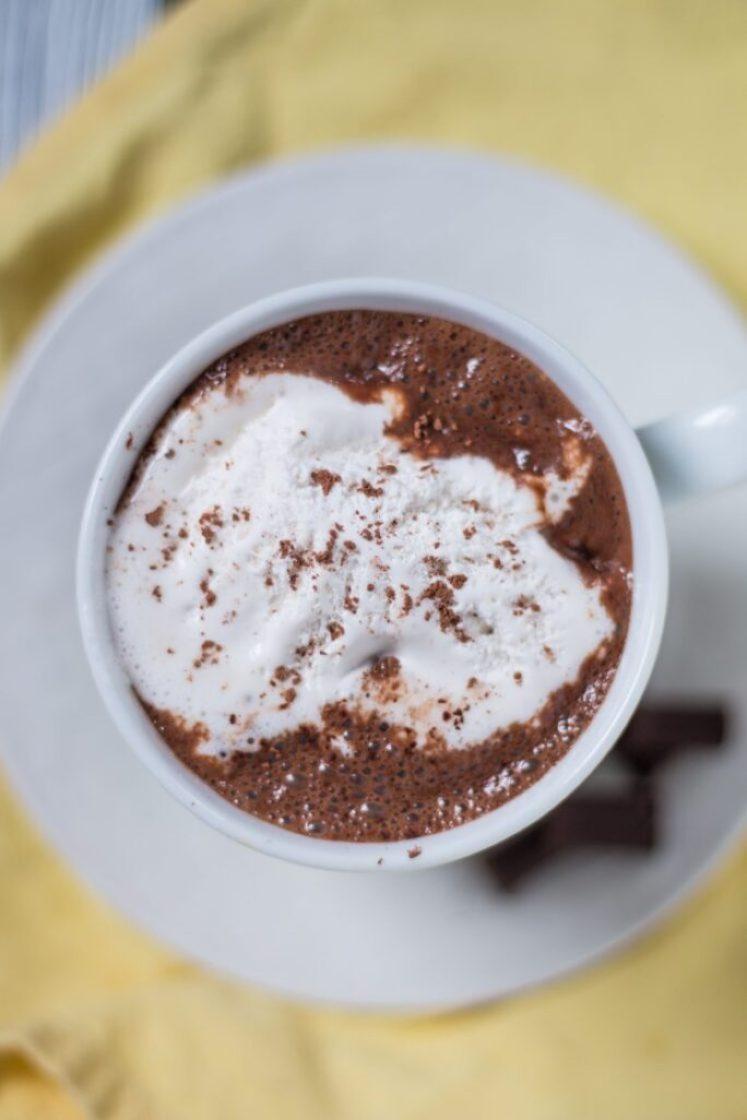 Awesome Vegan Hot Chocolate | www.thenutfreevegan.net