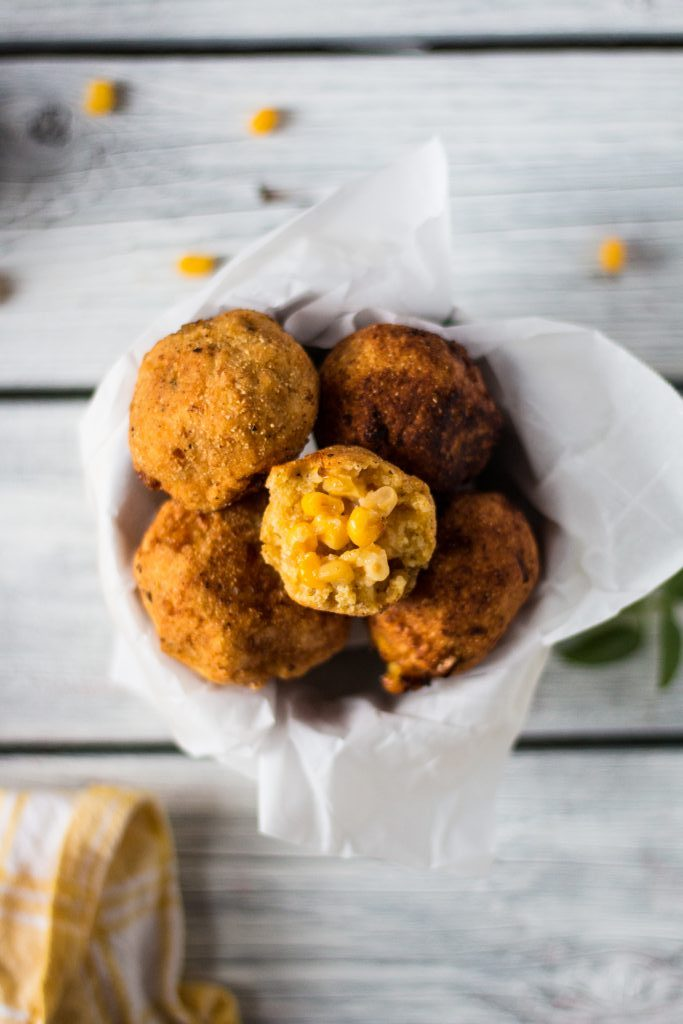delicious and easy vegan corn nugget appetizer | www.thenutfreevegan.net