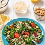 Kale Caesar Salad with Nut-Free Dressing