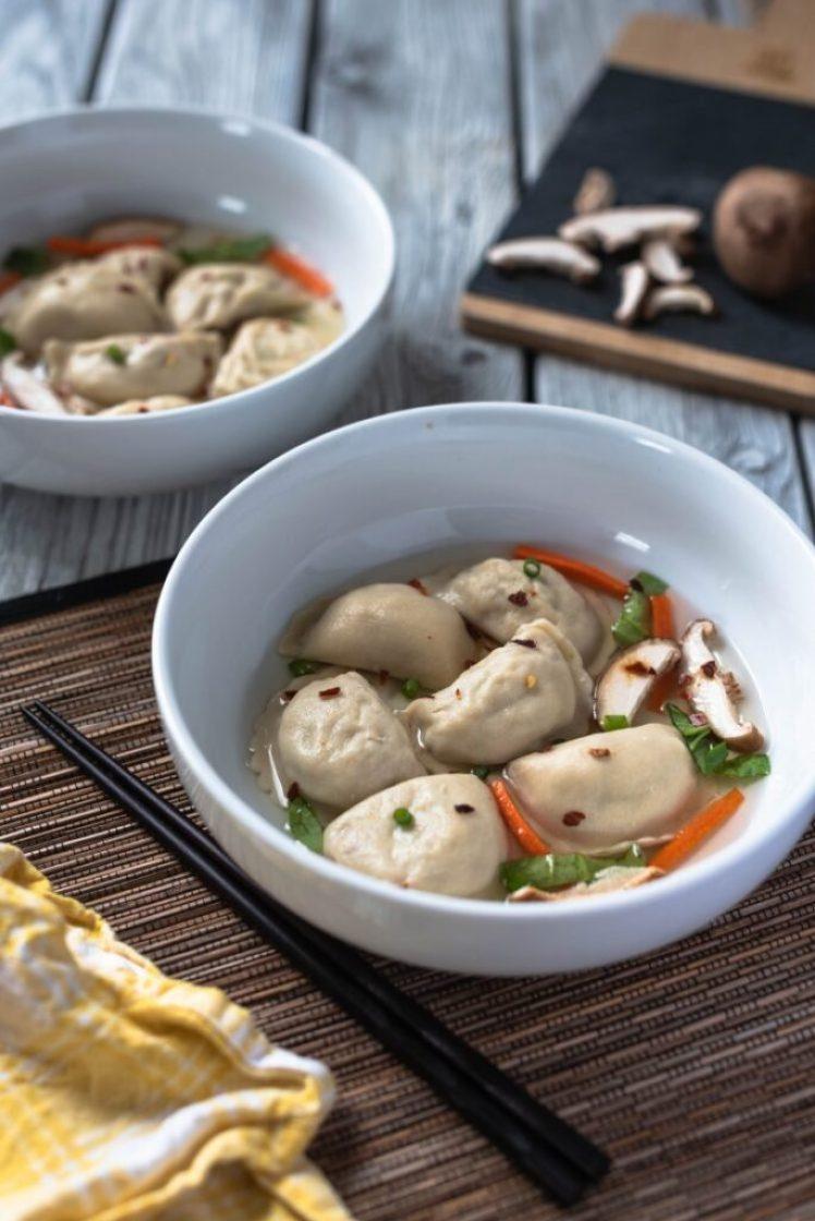 Nasoya Asian Dumpling Soup Nutfreevegan