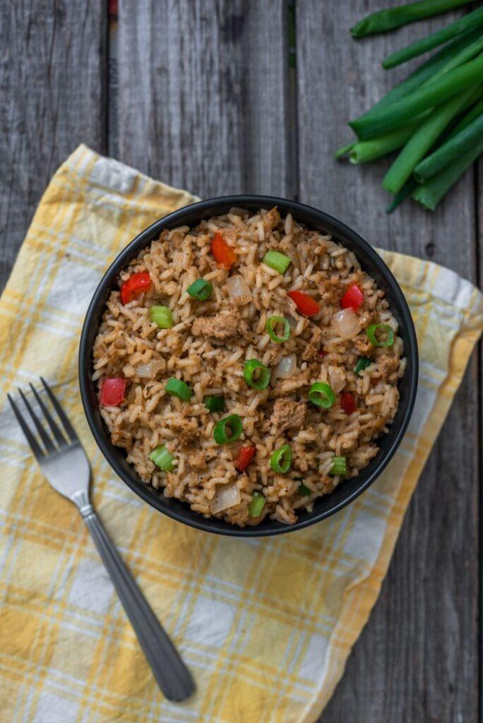 Cajun Dirty Rice Nutfreevegan