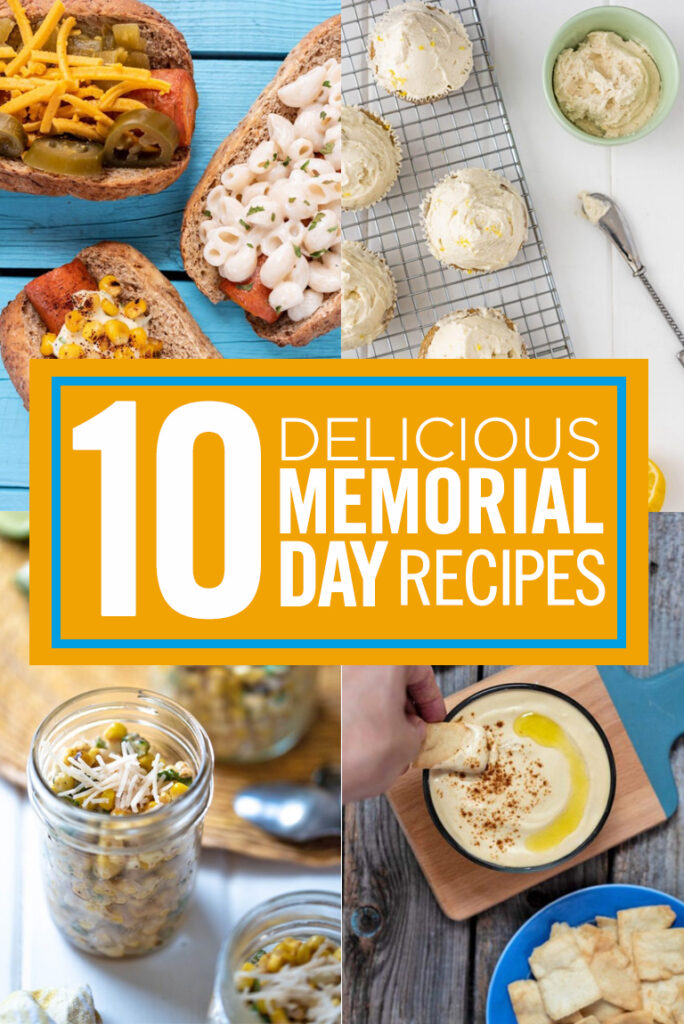 Memorial Day vegan recipes nutfreevegan