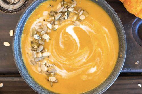 paleo vegan pumpkin soup
