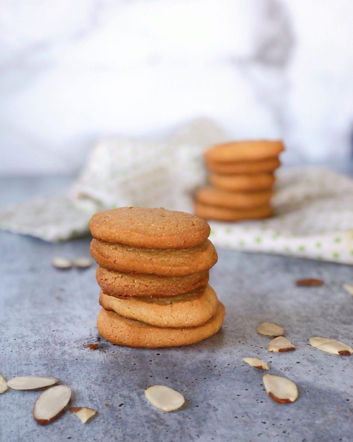 paleo shortbread cookies