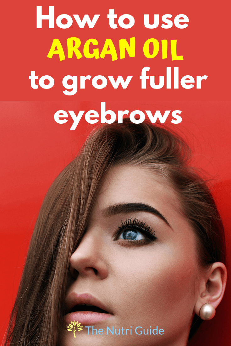 Argan Oil Eyebrows : argan, eyebrows, Argan, Eyebrows:, Naturally, Improve, Growth