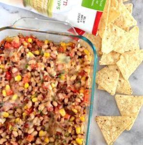 Cheesy Black-Eyed Pea Dip