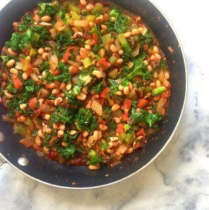 Black-Eyed Pea Burrito Bowl