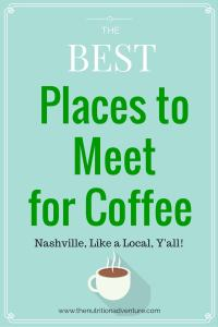 Nashville: Best Places to Meet for Coffee