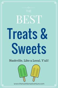 Nashville: Treats & Sweets