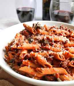 Healthier Weeknight Bolognese