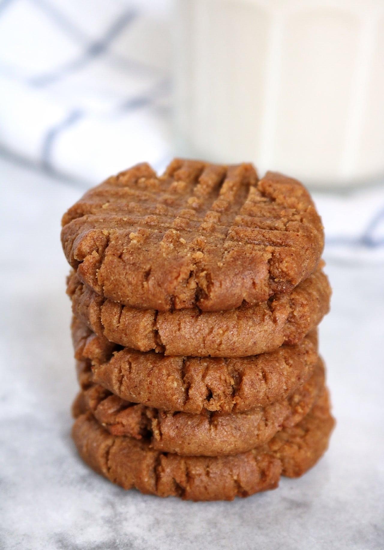 Brown Sugar Cinnamon PB Cookies
