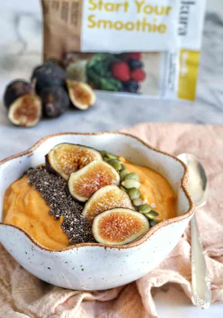 Pumpkin Fig Smoothie Bowl