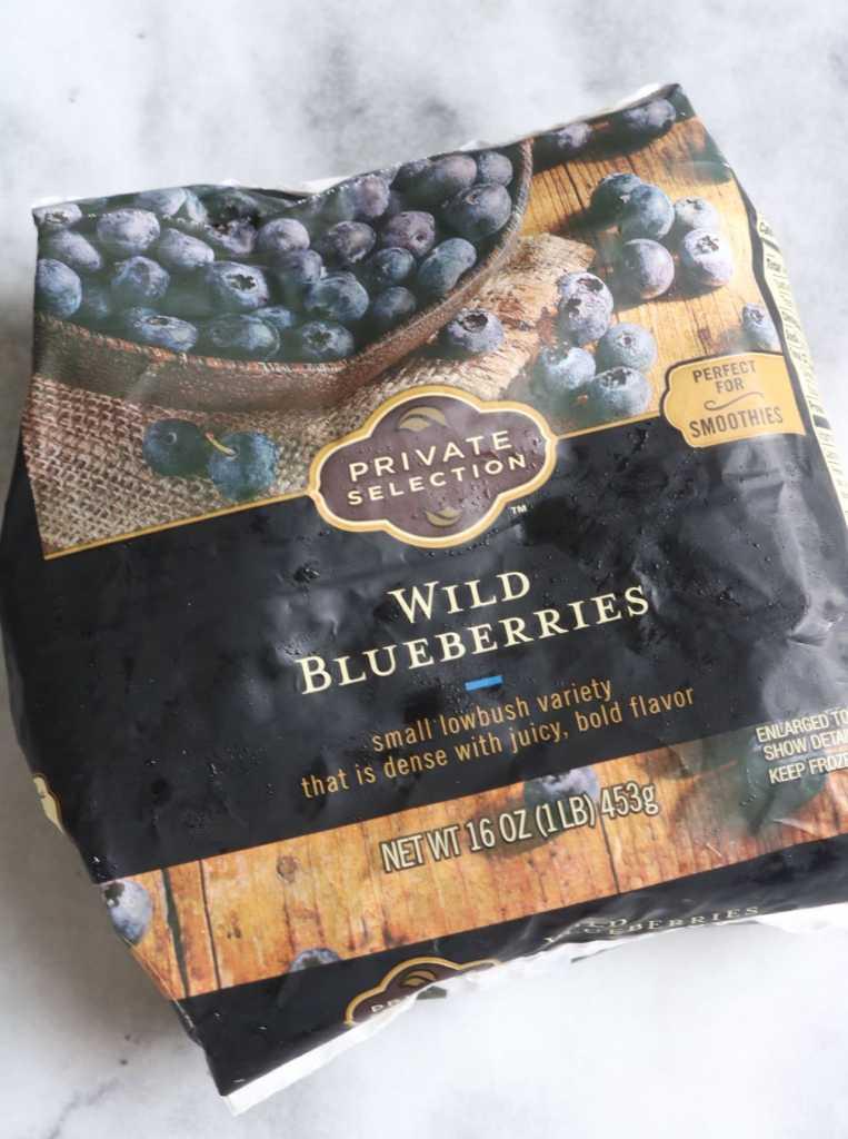 Wild Blueberry Edamame Smoothie