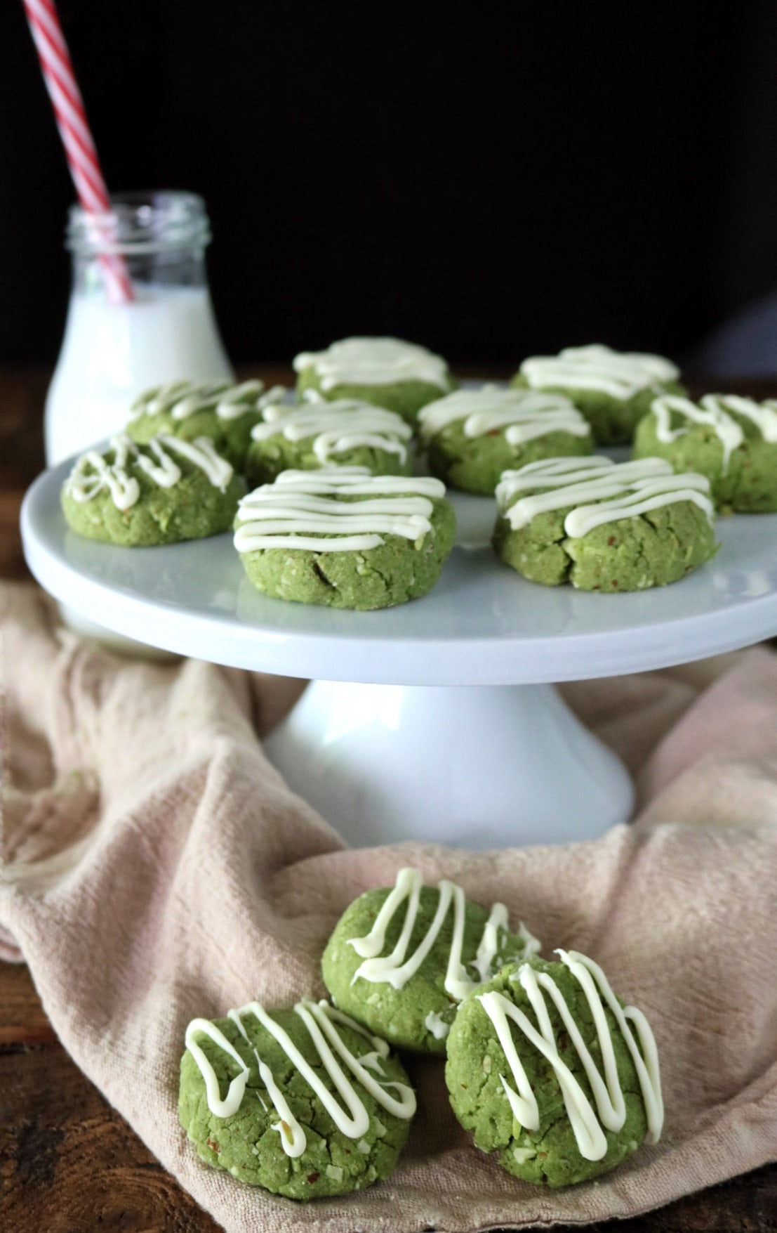 Matcha Almond Cookies | The Nutrition Adventure