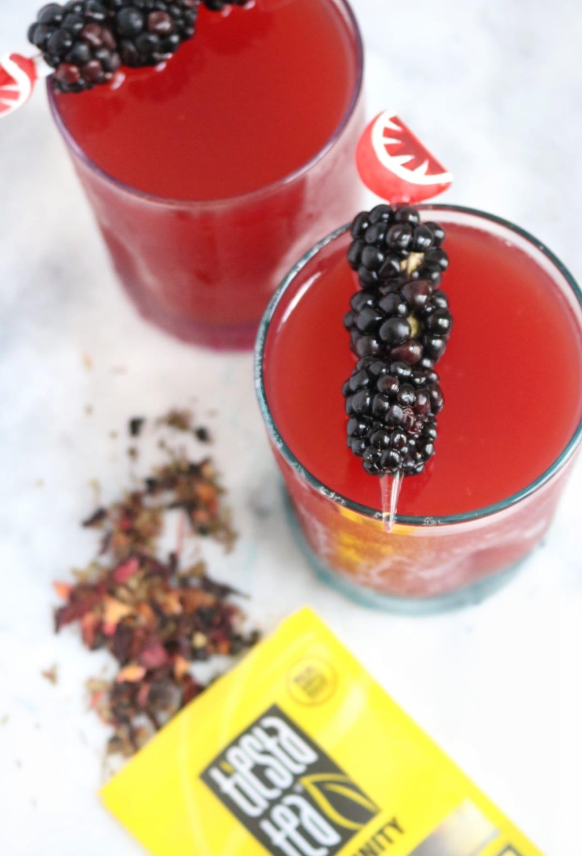 Watermelon Fireberry Tea | The Nutrition Adventure