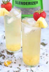 Fruity Green Tea Spritzer