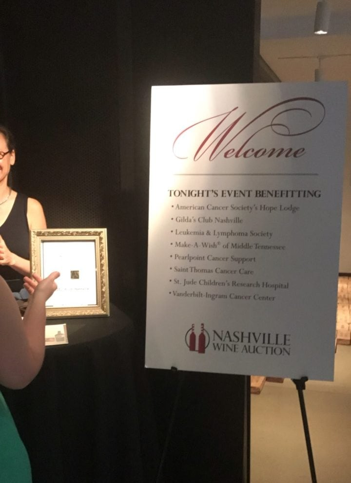 Nashville Wine Auction Patrons Dinner | The Nutrition Adventure