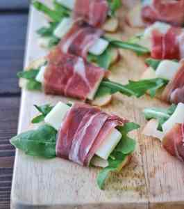 Prosciutto Wrapped Apple Bites